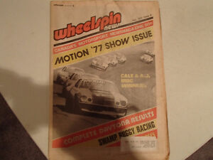 Collection of 6 Vintage WHEELSPIN NEWS Canada's Motorsport News Sarnia Sarnia Area image 4