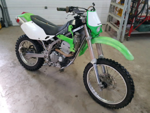 Looking for a Kawasaki KLX300R or KLX250R for parts