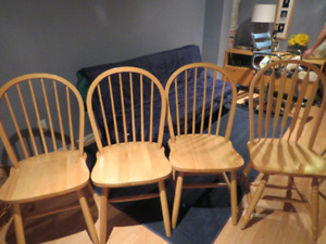 Beautiful new wooden chairs for sale