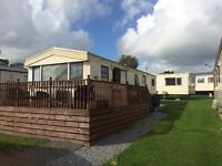 8 berth static caravan nr Tenby/Saundersfoot 5star camp site * Price lowered for quick sale *