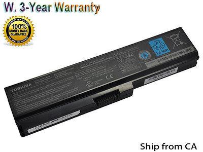 New PA3817U-1BRS C655 Genuine Original Toshiba Satellite L655 Battery PC Laptop