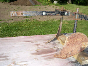 ANTIQUE HILLER  PLOW for SEARS GARDEN TRACTOR
