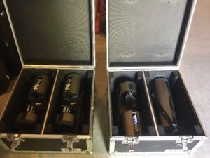 12 x Martin SCX 500 Scanners and Controller for Sale
