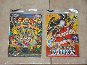 ED HARDY TEMPORARY TATOOS NEW IN PACKAGE - 2 packages Moncton New Brunswick image 1