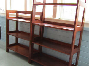 2 SUPER STRONG BOOKCASES