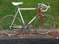 Vintage Raleigh Road Bike. 22 inch 56cm frame