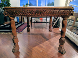 Antique - NAKED Solid Wood Dining Table