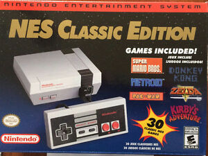 New Unopened NES Classic - Other controllers available