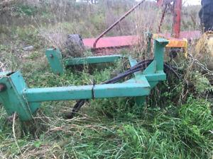 Plow for John Deere tractor