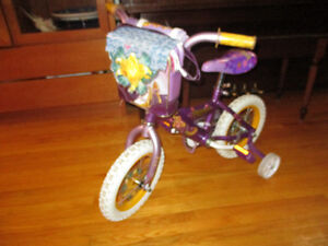 "Disney Tangled Rapunzel 12"" Bike - Like New"