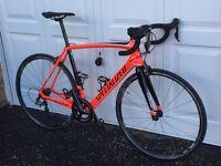 2017 Specialized Tarmac Comp road bike 58cm