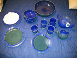 Denby Metz China tableware tea service. Now with Pictures!