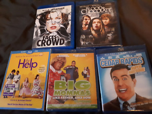New an used blu rays. Last chance!