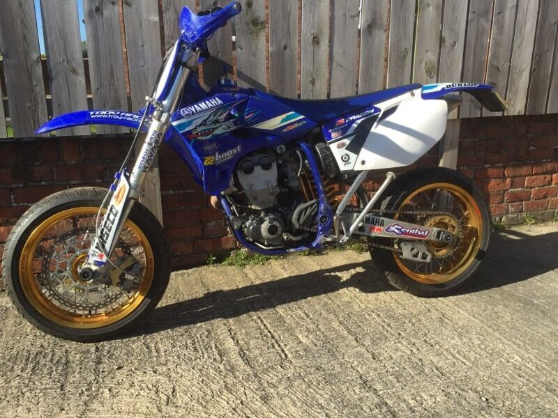 yzf 450 road legal supermoto in gosforth tyne and wear gumtree. Black Bedroom Furniture Sets. Home Design Ideas