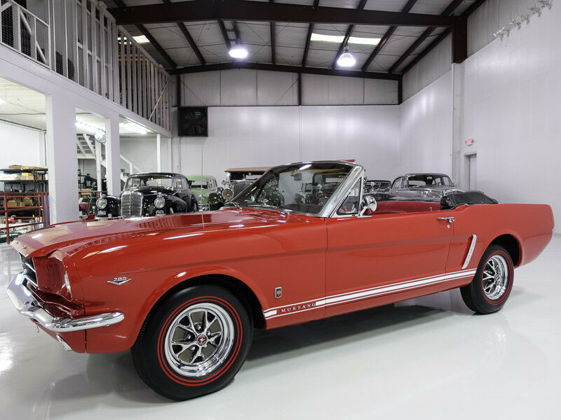 1965 Ford Mustang Convertible | Several GT options! 1965 Ford Mustang Convertible | 289ci V8 C-Code engine | Recently serviced