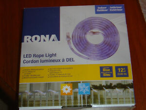 RONA LED ROPE LIGHT BLUE AND RED