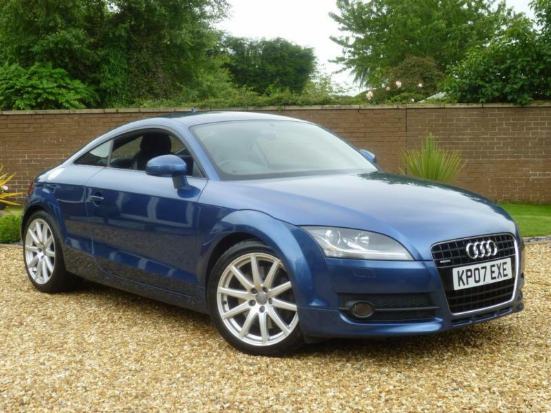 2007 07 audi tt coupe 3 2 v6 quattro manual 250 bhp 11. Black Bedroom Furniture Sets. Home Design Ideas