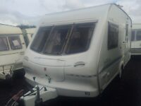 2 BERTH 2000 ELDDIS HURRICANE WITH END BATHROOM AND AWNING MORE IN STOCK AN WE CAN DELIVER PLZ VIEW
