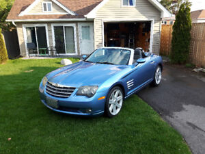 Chrysler Crossfire Convertible by Mercedes-Benz