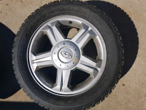 Winter tires on rims! 16 inch! M+S