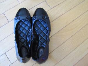 Michael Kors Joyce Ballet Leather Flats