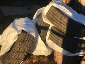 Set of winter tires for Chev Trax