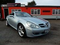 2005 Mercedes Benz SLK 2dr 12 months mot,warranty,finance available,px welcom...