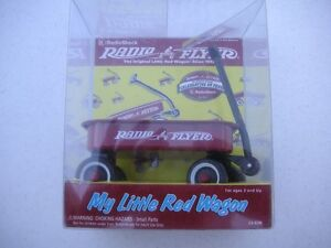SMALL METAL RADIO FLYER WAGON