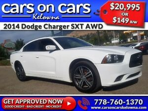 2014 Dodge Charger SXT AWD w/Heated Seats, Sunroof, BackUp Cam $