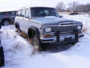 1985 Jeep Wagoneer Wagon