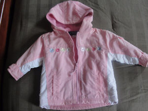Girls spring coat, size 12 months