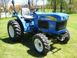 2012 NEW HOLLAND/FORD T1510 COMPACT/FARM TRACTOR 4X4
