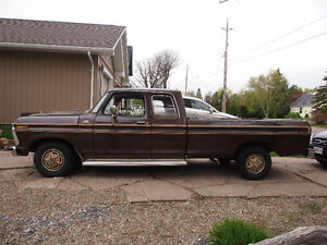 Sweet 1977 Ford F-100 Explorer Extended cab 8 Foot box
