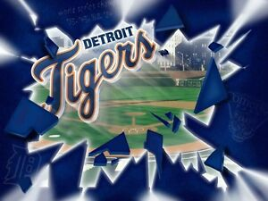 DETROIT TIGERS OPENING DAY 2 SEATS LOWER DECK REAL TICKETS