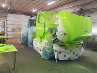 Looking for experienced or licensed auto body techs.