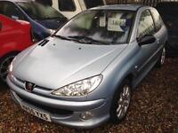 Peugeot 206 1.6HDi 110 2005MY GTi Runs but Fault on Car