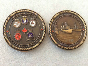 HMCS Military Challenge Coins