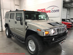2004 HUMMER H2 NAV 6 Pass Roof Rack New Tires Low KMS