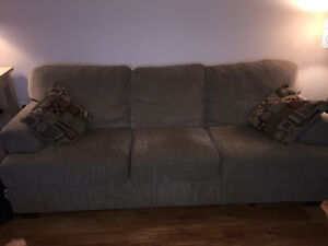 3 seat couch with 2 pillows - excellent condition! $125 OBO