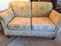 Two seater Sofa and Two Armchairs Floral Print