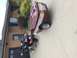1800 goldwing and trailer for sale