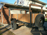 Heavy Duty Utility Trailer for Sale