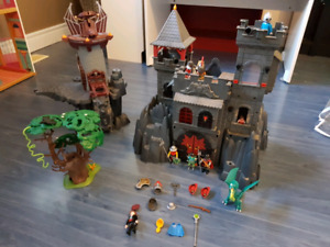 Playmobil ensemble de chateau