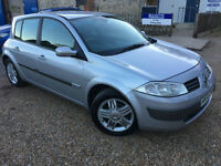 2005 '55' Renault Megane 1.6 VVT Privilege. Petrol. Manual. 5 Door. Px Swap