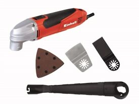 Einhell TC-MG 220 E Multi-Tool & Carry Case 220 Watt 240 Volt Xmas Ideal stocking filler