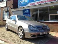 2005 05 Mercedes-Benz C180 COUPE Kompressor 1.8 auto SE FINANCE AVAILABLE