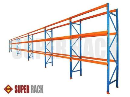 Heavy Duty Pallet Racking Upright Frames Beams Warehouse System