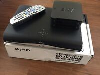 Sky+HD box & Broadband wireless router