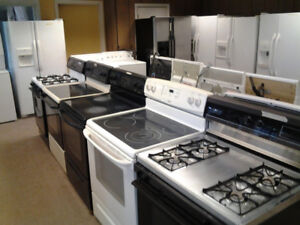 CLEAN USED QUALITY WASHER - DRYER - FRIDGE - STOVE 90 DAY WARRTY
