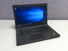 "Lenovo 12.5"" Ultrabook X240 Laptop I5 Processer, 256gb SSD, 12gb Ram - Windows 10"